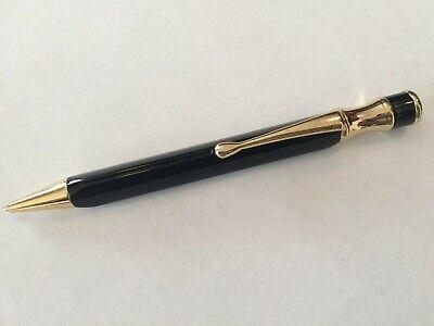 Libelle Spumani Pen Black with Gold Trim - Free Shipping Libelle Black Pen