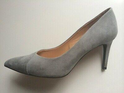 Women's Zara Trafaluc Suede Pump High Heel Shoes Size 40