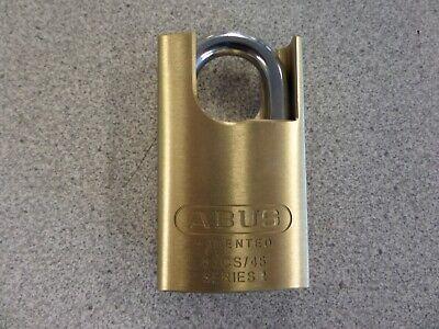 Abus 83cs45-323 Schlage Everest C123 Keyway Shrouded Rekeyable Brass Padlock