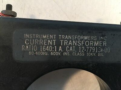 Instrument Transformer Current Transformer 12-779131-00