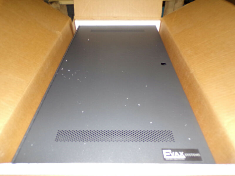 Evax Systems HMX-DP100 Voice Evacuation System Distribution Enclosure Cabinet