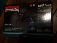 Makita brushless rotary hammer brand new in box DHR242 Casula Liverpool Area Preview