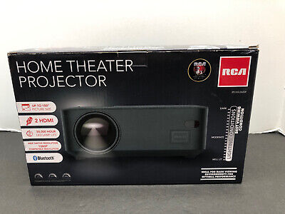 RCA 480p Home Theater Projector 1080p Compatible w/ HDMI & bluetooth new