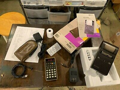 HP 25 printing calculator - Refurbished / MAJOR Upgrades. Includes HP Printer.