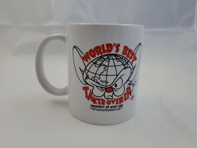 Pinky and the Brain Worlds Best Take-over-er Mug Loot Crate