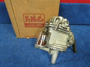 1949-51 FORD 226ci  6 CYLINDER FUEL / VACUUM PUMP  NOS FORD  216
