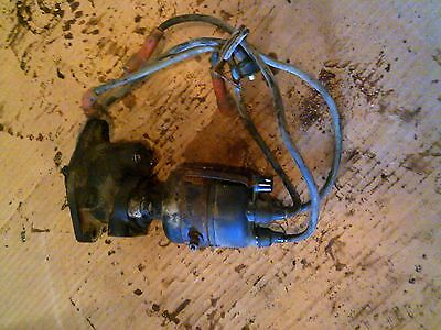 Ihc Cub 154 Tractor Ih Engine Motor Distributor Drive Assembly Cap Wires