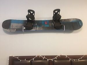 Brand New Burton Snowboard ( with helmet, boots and bindings )