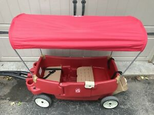 Step 2 red wagon with canopy