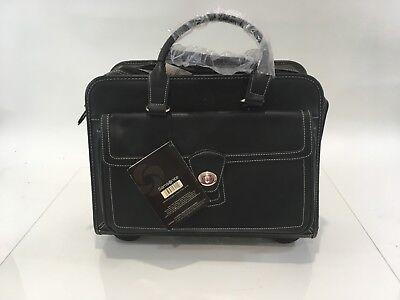 Samsonite 938595 Wheeled Business Tote Bag Computer New