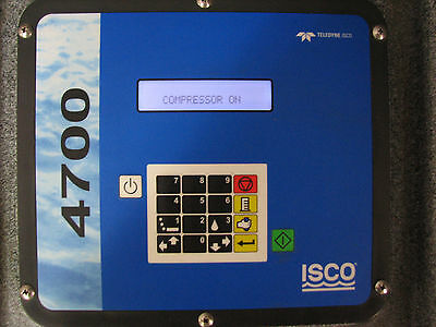 Isco 4700 Refrigerated Wastewater Sampler - Polyethylene Cabinet - With Warranty