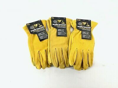 Wells Lamont Premium Cowhide Leather Work Gloves Medium Buy More Save More