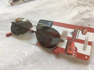 Disney Pixar Cars Lightning McQueen Kids Sunglasses 100% UVA/B Protection NEW - Lightning Mcqueen Sunglasses