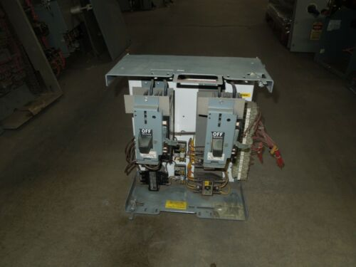 """Cutler Hammer F10 Unitrol Twin Type M Relay 15A Twin Breaker MCC Bucket 18""""T"""