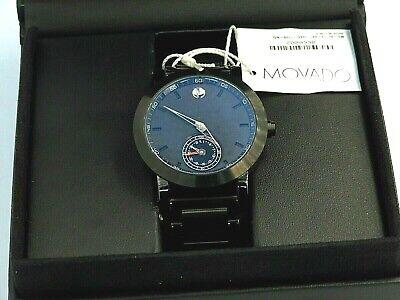 Movado Museum Sport Motion Black Dial Mens Multi function Watch 0660002