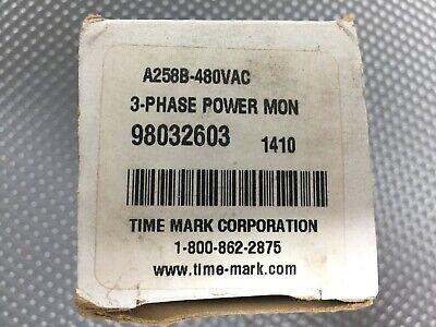 Time Mark A258b-480 Vac 3-phase Power Monitor
