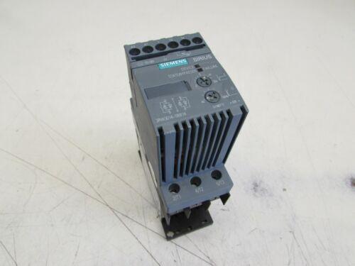 SIEMENS SOFT STARTER 3RW3014-1BB14 , 3HP/460V 110/230V , GOOD TAKEOUT M/O!!
