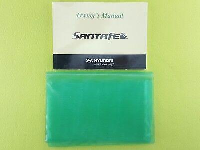 HYUNDAI SANTA FE (2006 - 2009) Owners Manual / Handbook + Case / Wallet