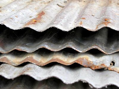 Reclaimed Corrugated Metal Tin Roofing Please Read Entire Description