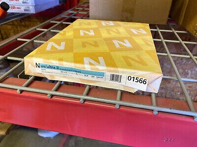 Neenah Uvultra Ii Translucent Vellum White Printing Paper 250 Sheets 8.5x11