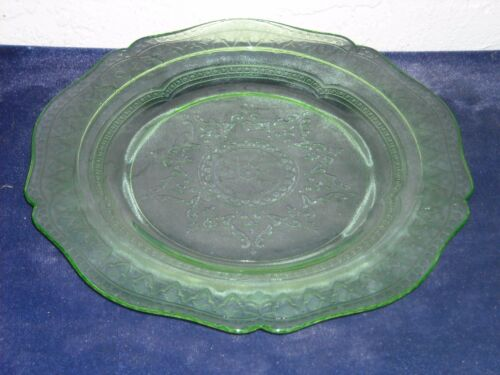 Patrician Luncheon Plate  Green