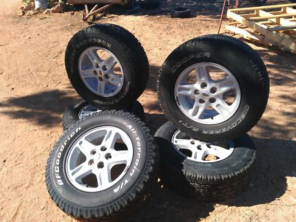 245/70/r16  Mickey Thompson STZ and cooper A/T 3     X5