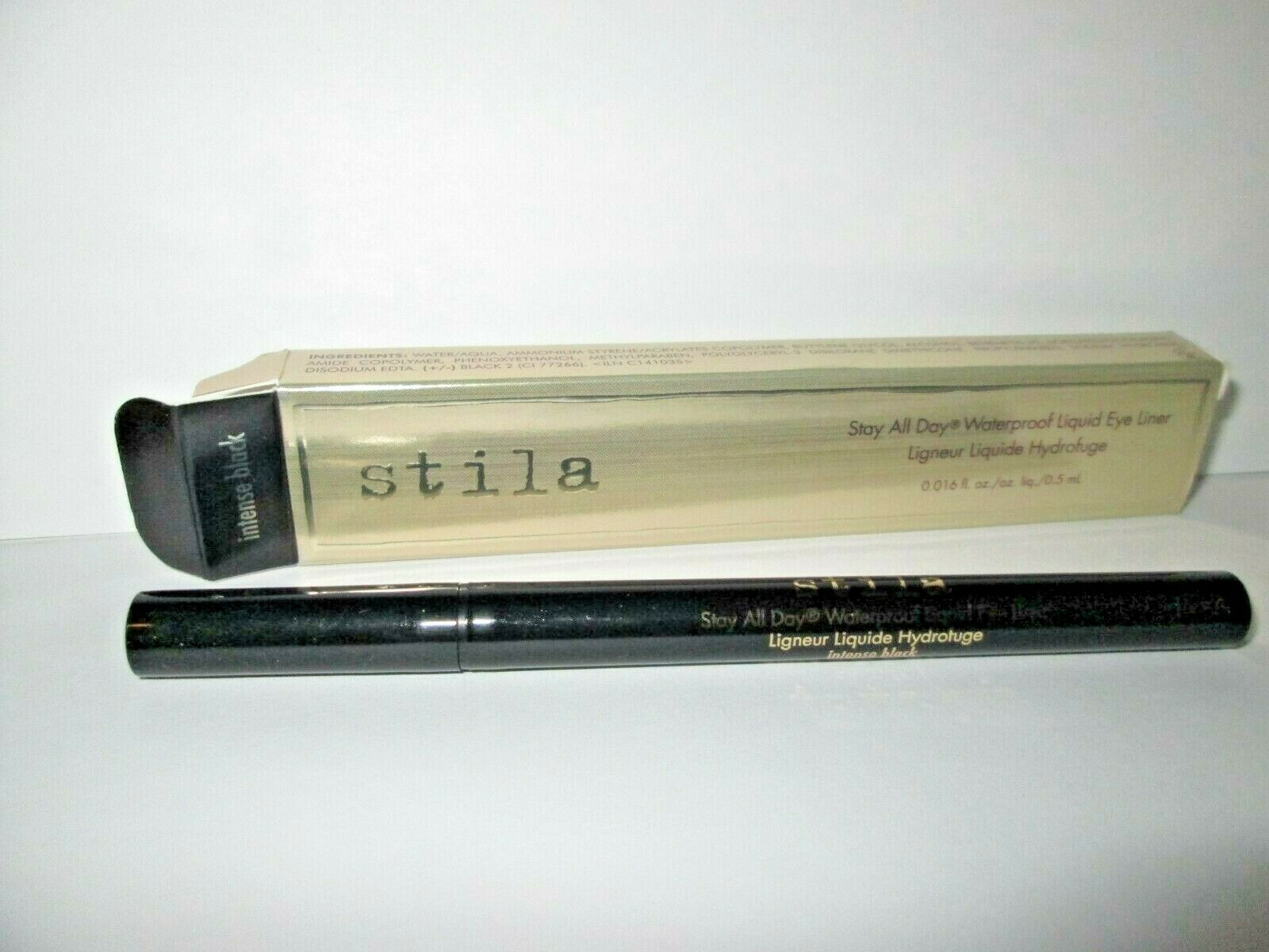Stila Stay All Day Waterproof Liquid Eye Liner, Intense Blac