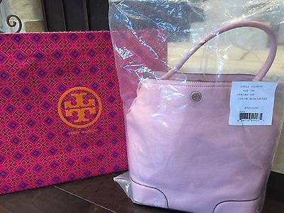 TORY BURCH FRANCES BUCKET TOTE ROSE SACHET NWT $495 & GIFT BAG-SOLD OUT