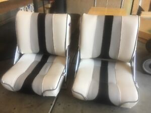 Quintrex Boat Seats - Flip Back Style