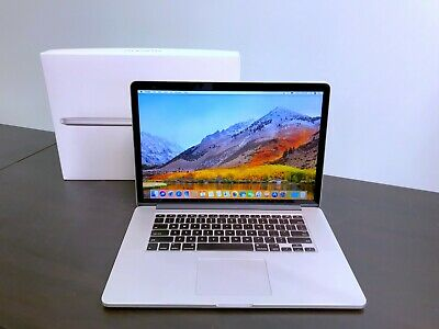 Apple MacBook Pro 15 Retina Quad Core i7 / 16GB RAM 1TB SSD / OSX-2019 /Warranty