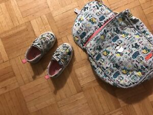 Zara Baby matching  shoe and backpack set