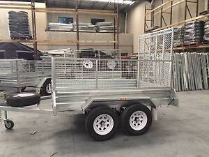 LOWEST PRICE!8*5 BOX CAGE TRAILER with RAMP– $1949 / TANDEM $2799 Wetherill Park Fairfield Area Preview