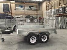 LOWEST PRICE!8*5 BOX CAGE TRAILER with RAMP– $1949 / TANDEM $2499 Wetherill Park Fairfield Area Preview