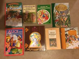 Alice in Wonderland books available...