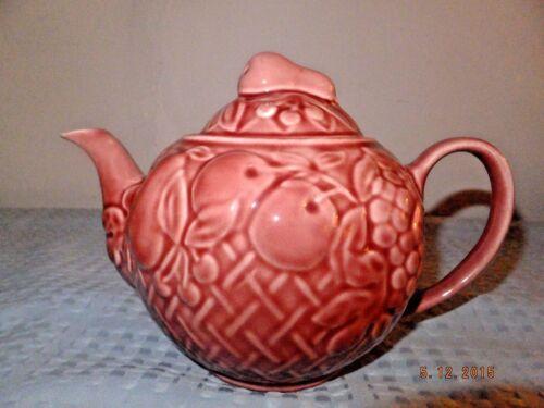 Wade England Harvest Fruits Teapot