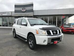 2004 Nissan Pathfinder Armada LE 4WD LEATHER SUNROOF REAR DVD 7-