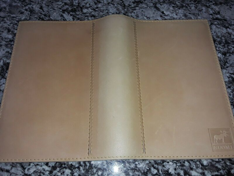 Leather Book Cover Italy Like New