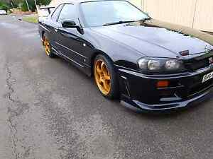 Cleanest gtt r 34  turbo with sunroof Lidcombe Auburn Area Preview