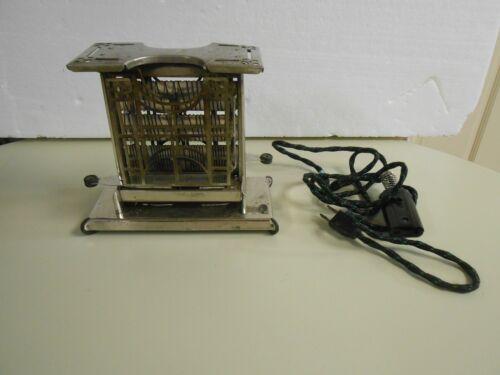 Antique Working Landers Frary & Clark Universal Swing Door Toaster w/ Cord
