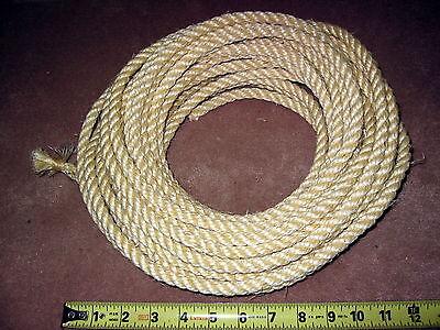 Nos John Deere Vintage Sisal Rope For Plow Disk Etc. 38 Diameter By The Foot