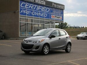 2014 Mazda Mazda2 GX w/Automatic & Air Conditioning!!!