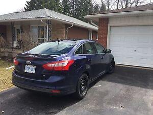 2012 Blue Ford Focus