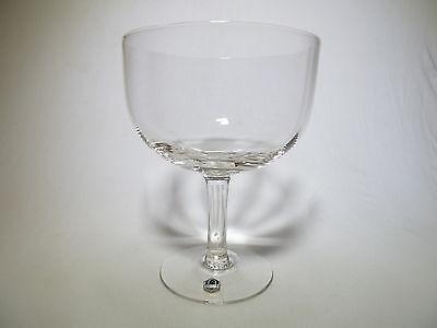 Weißbierschale Berliner Weiße Glas leicht gerippt , alt neutral , ohne Druck
