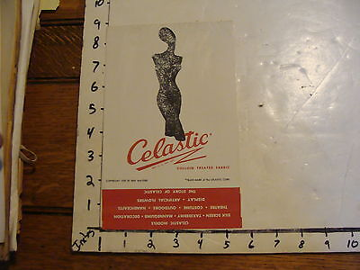 Vintage Puppet Marionette paper: CELASTIC 1950 advertising booklet