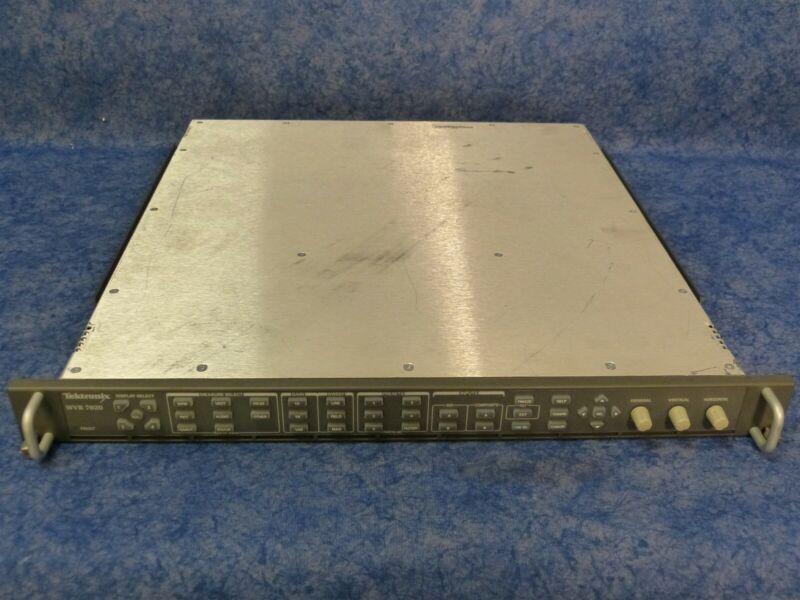Tektronix WVR 7020 Multi-Standard Multi-Format Waveform Rasterizer