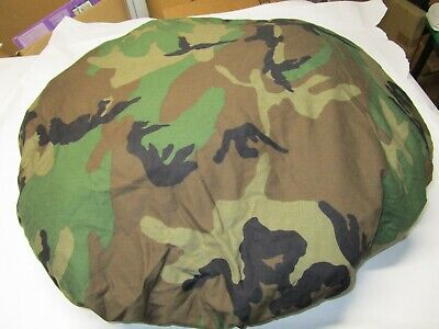 US Army LC 1 Field Pack Rucksack Backpack Tire Cover BDU Woodland Military #10