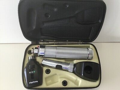 Welch Allyn Diagnostic Set Ophthalmoscope 11720 Streak Retinoscope 18100