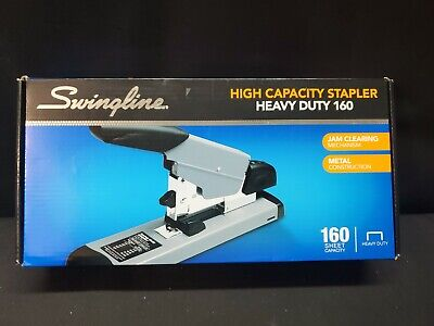 Nib Swingline Deluxe Heavy Duty Stapler 39005-staples 2-160 Sheets Newunused