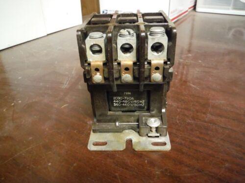 ITE Definite Purpose Contactor 50A 600v 3 Pole 480V AC coil