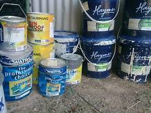 Paint - quality used tins of exterior paints Googong Queanbeyan Area Preview